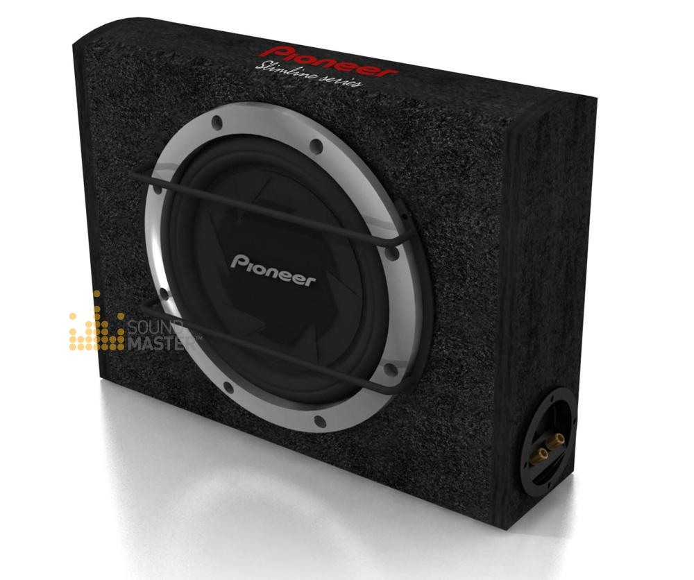 Pioneer subwoofer with box